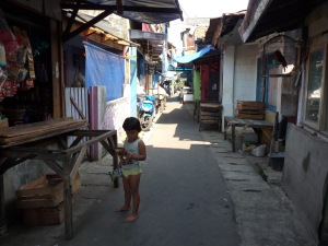The crammed kampung where a lynching took place