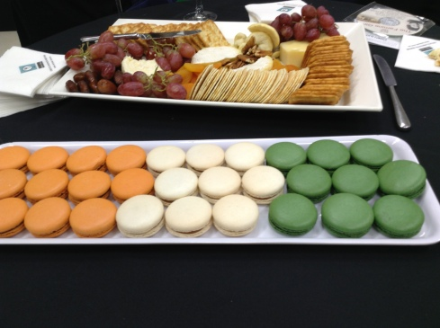 Hibernian macaroons at State Library of NSW