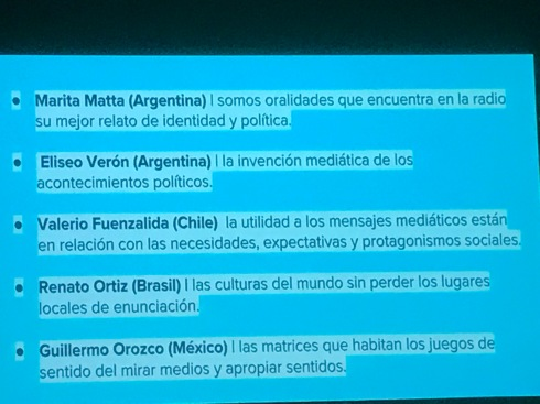 Latin American scholars 1